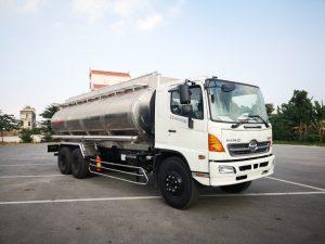 Xe chở xăng dầu 21 khối hino fl bồn nhôm