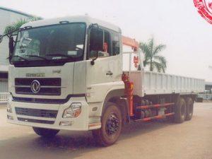 xe tải gắn cẩu KANGLIM KS633 Dongfeng