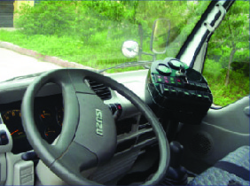 Cabin xe quét đường hút bụi Isuzu 5 khối