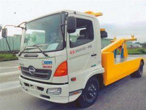 xe cứu hộ giao thông kéo xe Hino FC