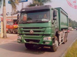 xe chở rác 20 khối HOWO ZZ3257N3447A1/VL-CR