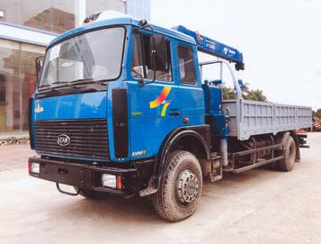 xe tải gắn cẩu 5 tấn Tadano VEAM 533603