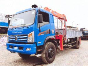 xe tải gắn cẩu Kanglim 5 tấn TRUONGGIANG DFM YC88TF4X4
