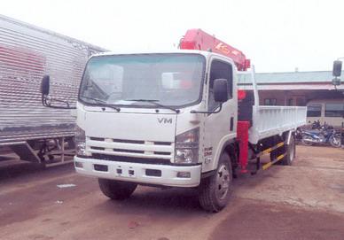 xe tải gắn cẩu Unic 3 tấn VINHPHAT FN129