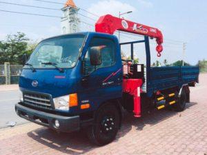 xe tải gắn cẩu Unic 3 tấn VEAM HD800