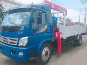 xe tải gắn cẩu Unic 5 tấn THACO OLLIN800A