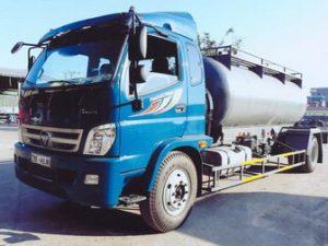 xe chở hóa chất chở axit 9 khối Thaco olin 950