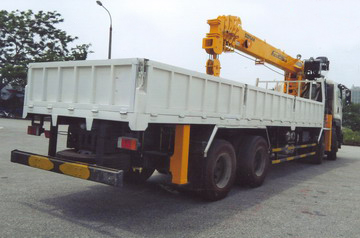 xe tải gắn cẩu Soosan 12 tấn VINHPHAT FV330