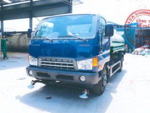 xe phun nước rửa đường 7 khối Hyundai mighty Hd700