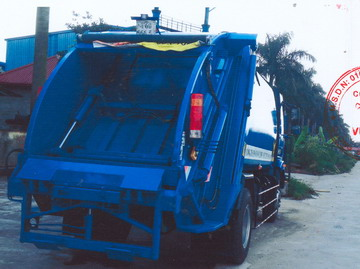xe ép chở rác 12 khốiFAW