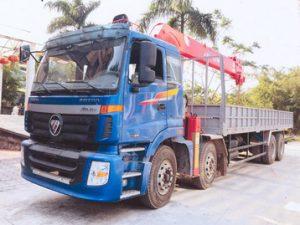 xe tải gắn cẩu Atom 12 tấn THACO AUMAN C3000A