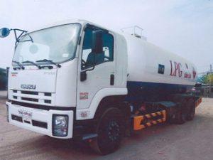 xe chở lpg 22 khối ISUZU FVM34T