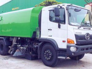 xe quét đường hút bụi 6 khối HINO FG8JJ7A