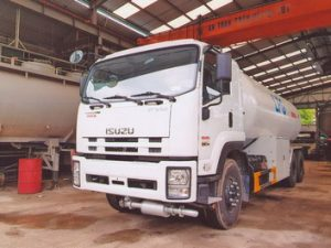 xe chở khí hóa lỏng LPG 22 khối ISUZU FVM34T/VL-LPG
