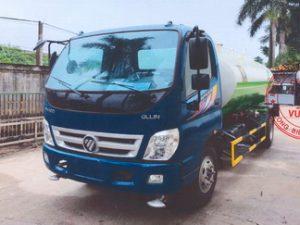 xe phun nước rửa đường 8 khối THACO OLLIN700C