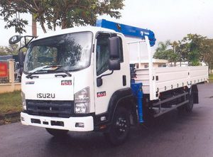 xe tải gắn cẩu Tadano 3 tấn ISUZU FRR90NE4