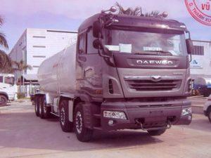 xe chở khí hóa lỏng LPG 26 khối Daewoo