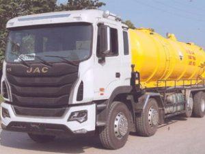 xe hút bùn, hút chất thải 20 khối JAC HFC1341KR1T