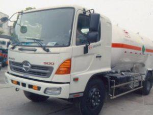 xe chở oxy lỏng 4 khối HINO FG8JJSB