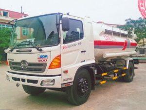 xe chở xăng dầu 11 khối Hino FG