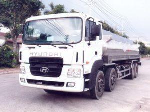 xe chở hóa chất, chở cồn 21 khối Hyundai hd320