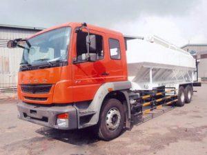 xe chở thức ăn chăn nuôi 20 khối FUSO FJ