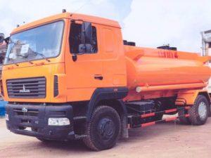 xe chở xăng dầu 10 khối MAZ