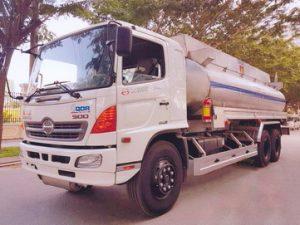 xe chở hóa chất chở ethanol 18 khối Hino FL