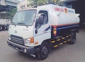 XE CHỞ XĂNG DẦU 8M3 THACO HD650