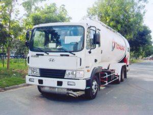 xe chở lpg 19 khối Hyundai hd210