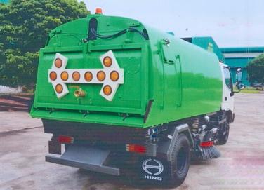 xe quét đường hút bụi 4 khối HINO WU342L