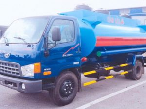 xe chở xăng dầu 10 khối VEAM HD800