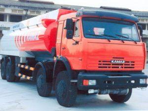 xe chở xăng dầu 23 khối KAMAZ 6540
