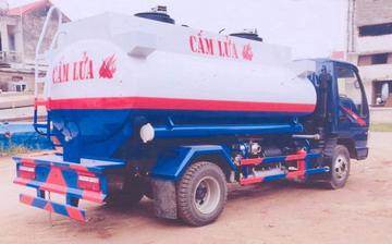 xe chở xăng dầu 6 khối JAC