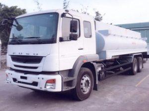 xe chở xăng dầu 18 khối FUSO FJ