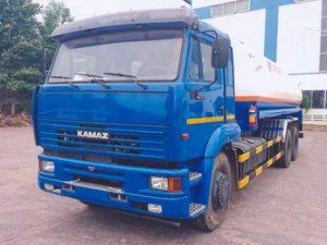 xe chở xăng dầu 17 khối KAMAZ 65117