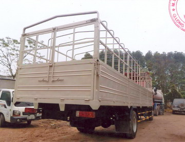 xe tải thùng mui bạt Faw 4x2