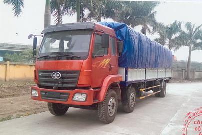 xe tải thùng mui bạt Faw 6x2