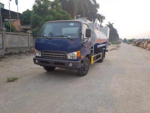 xe chở xăng dầu 8 khối hyundai hd800
