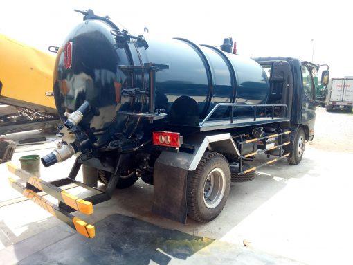 xe hút bùn, hút chất thải 5 khối Thaco 500