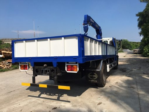 Xe tải gắn cẩu 5 tấn Tadano HINO FG8JPSB