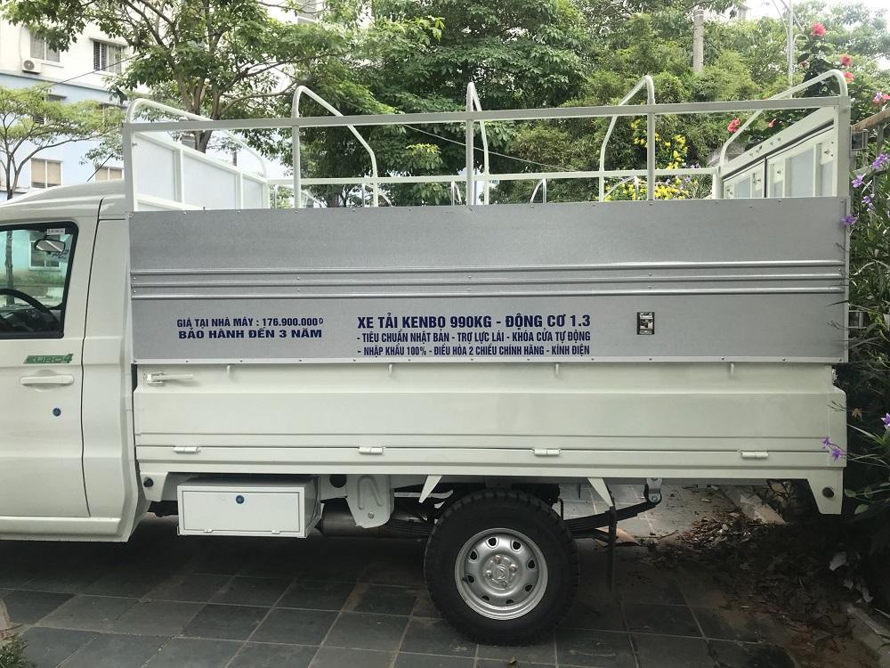 Thùng Xe tải Kenbo Chiến Thắng